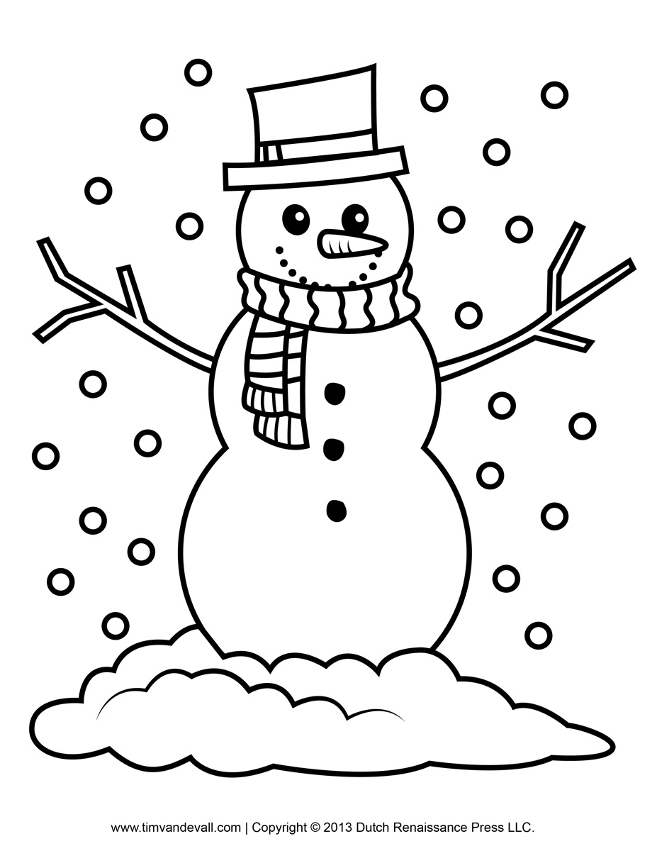 snowman for coloring free snowman clipart template printable coloring pages snowman coloring for