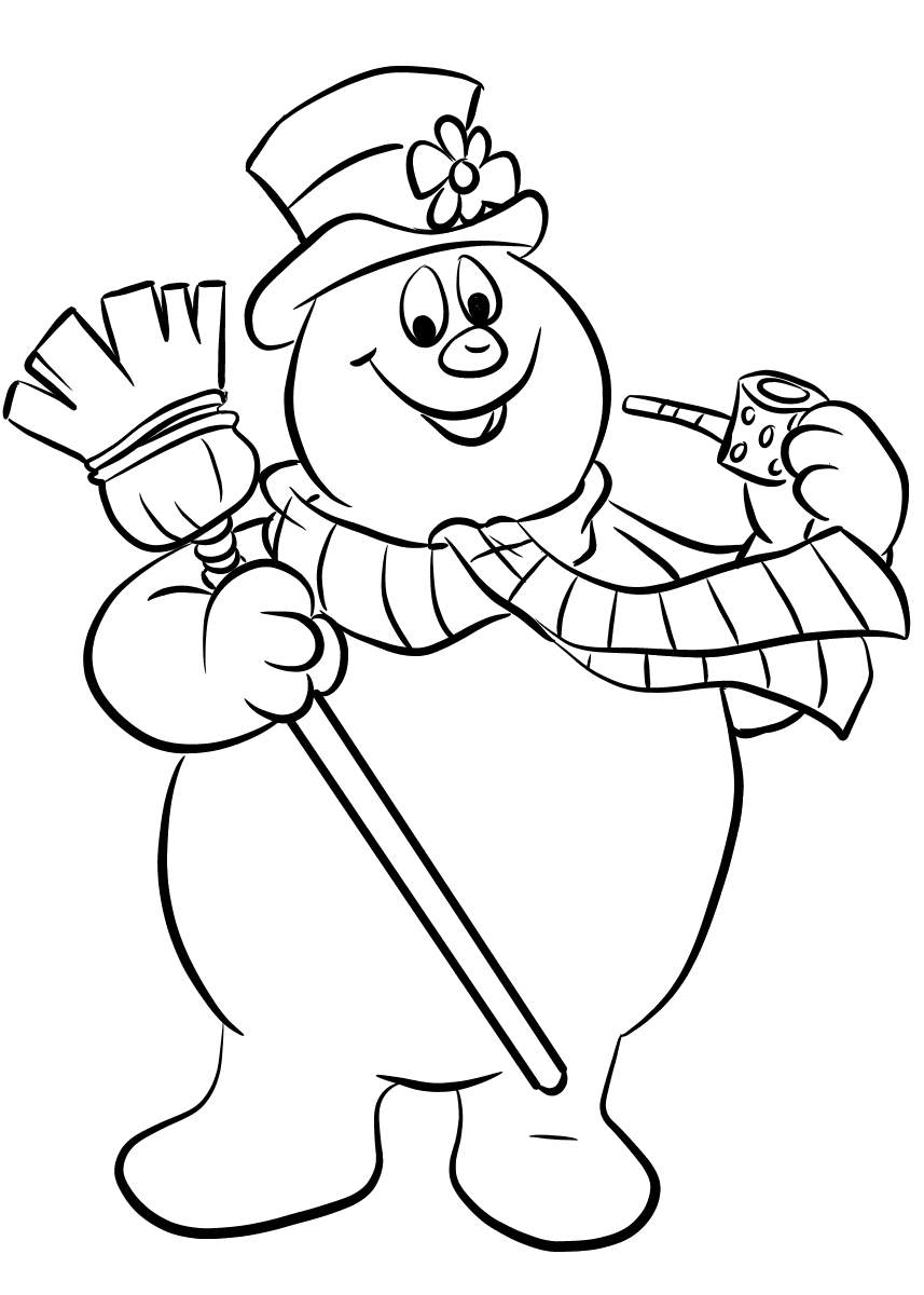 snowman for coloring frosty the snowman coloring pages for snowman coloring