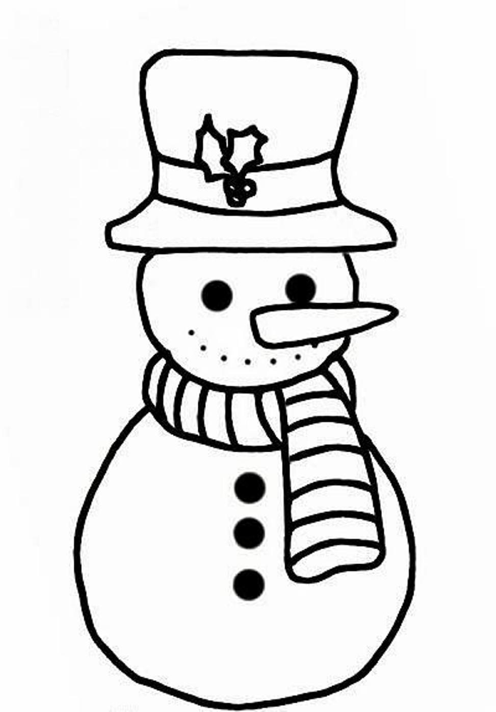 snowman for coloring get this snowman coloring pages free printable 66396 coloring snowman for
