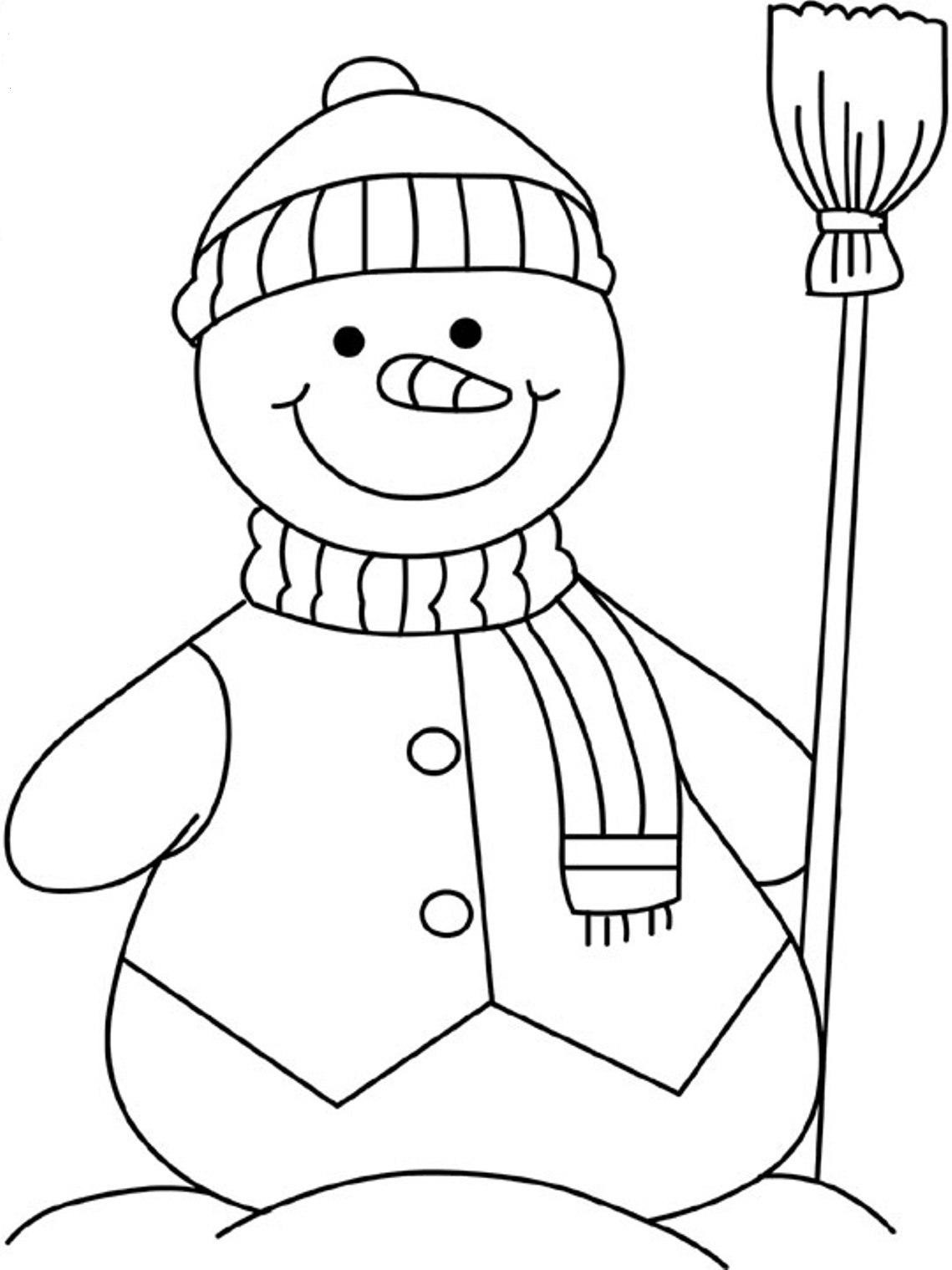 snowman for coloring snowman coloring pages for preschool at getcoloringscom snowman for coloring