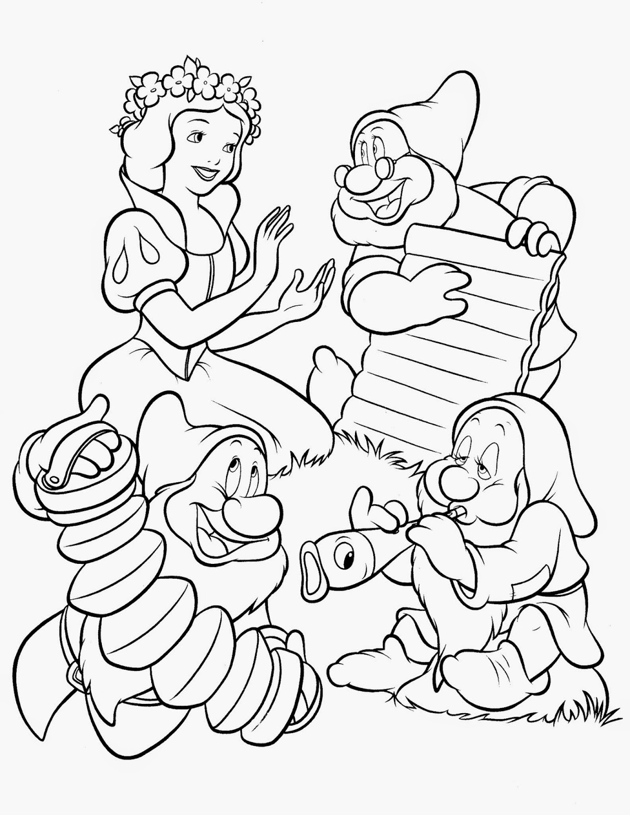 snowwhite coloring disney snow white coloring pages thousand of the best snowwhite coloring