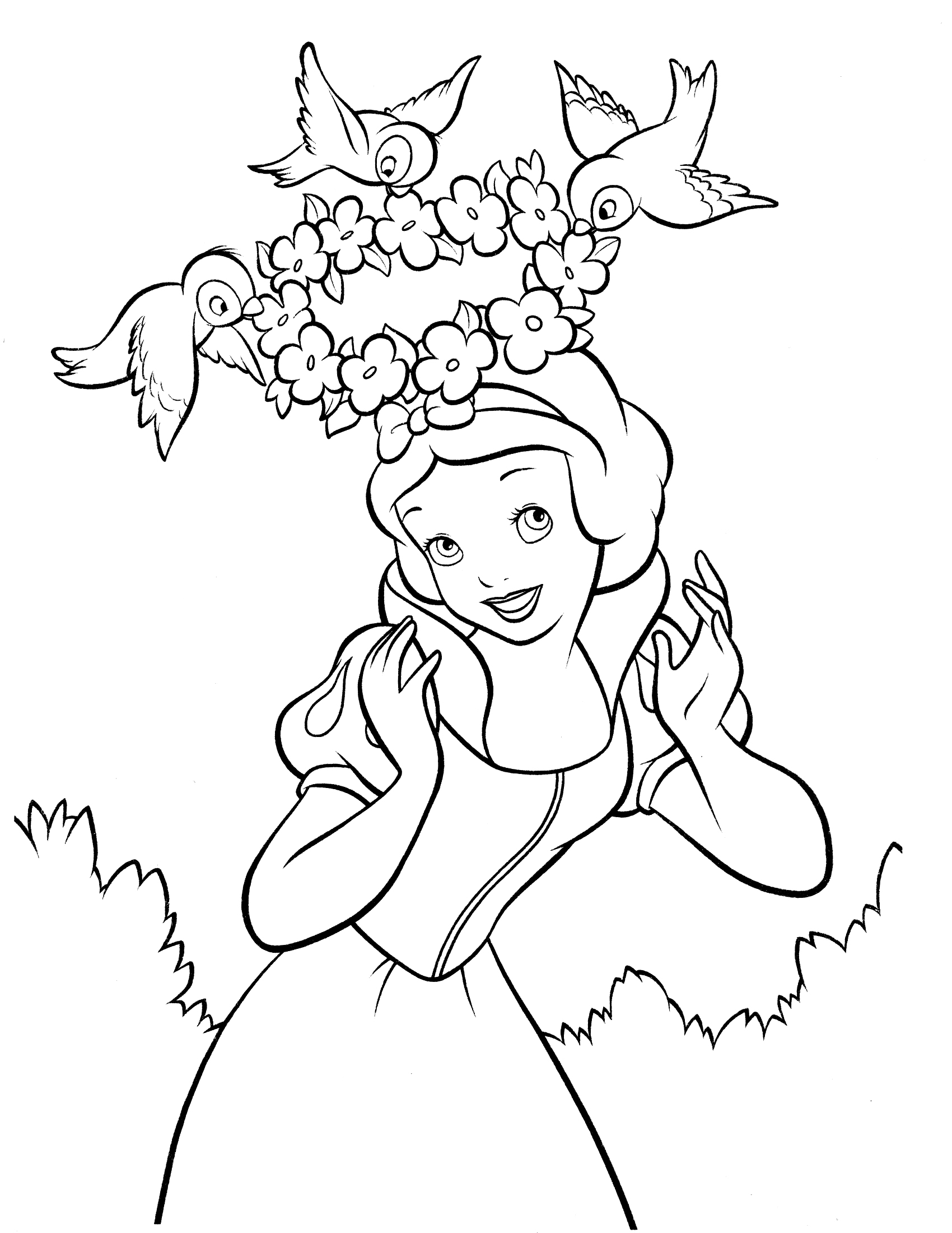 snowwhite coloring snow white to color for children snow white kids snowwhite coloring