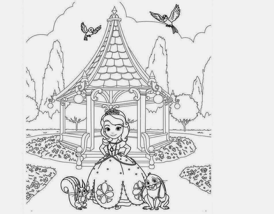 sofia pictures to color sofia and clover coloring page free printable coloring pages color sofia pictures to