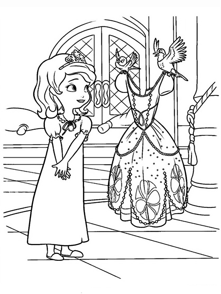 sofia the first free coloring pages princess sofia curtseying coloring page free printable coloring pages first free the sofia
