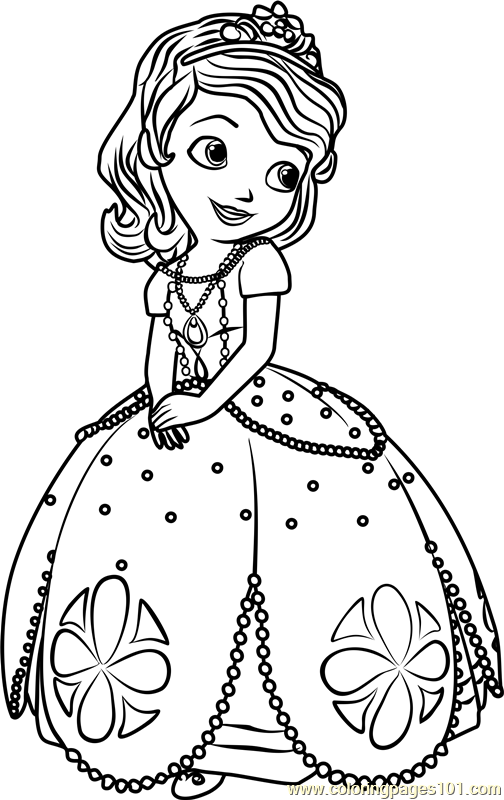 sofia the first free coloring pages sofia the first coloring pages free printable sofia the sofia first the coloring pages free