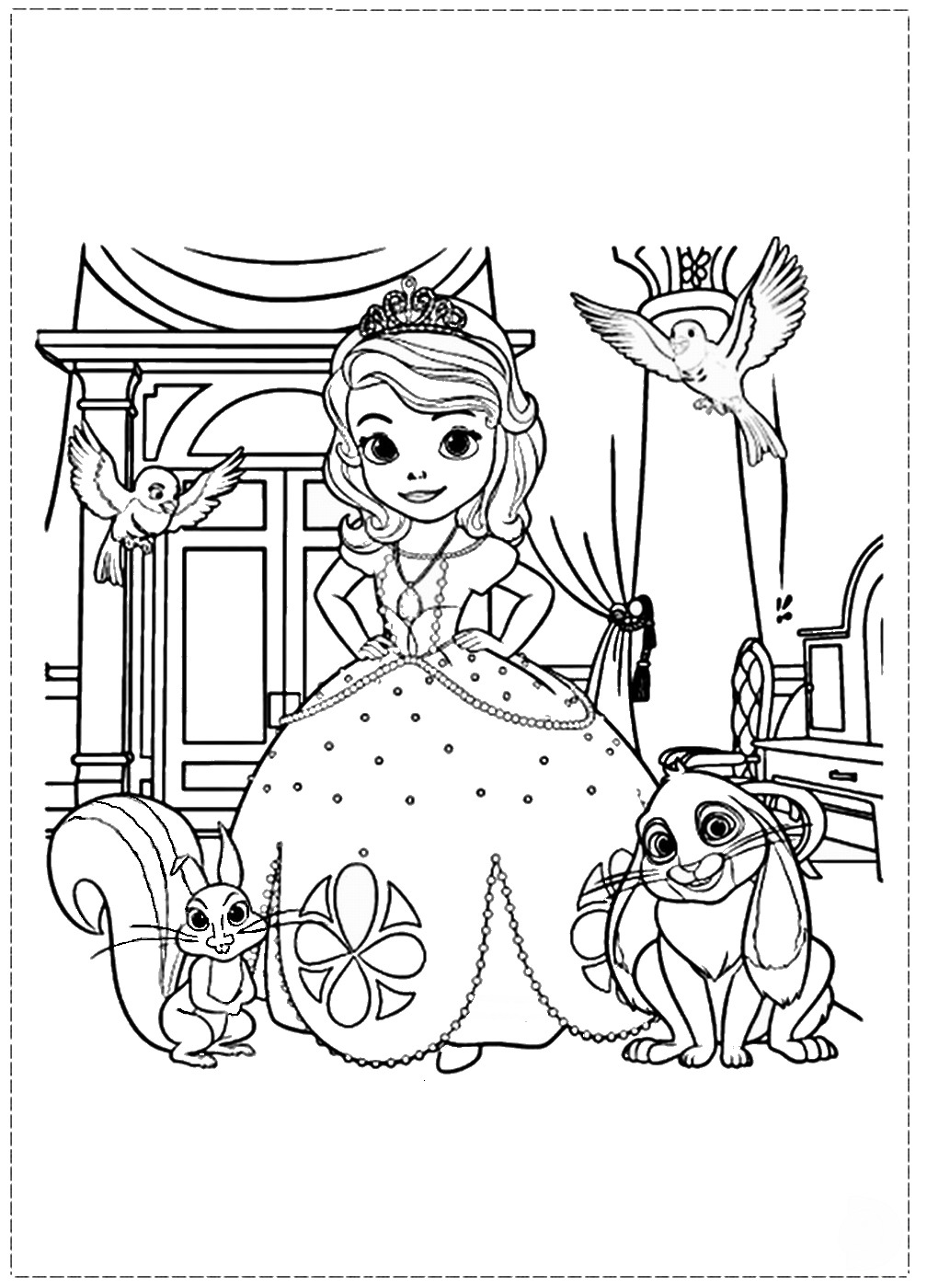 sofia the first free coloring pages sofia the first coloring pages the sun flower pages free sofia pages coloring the first
