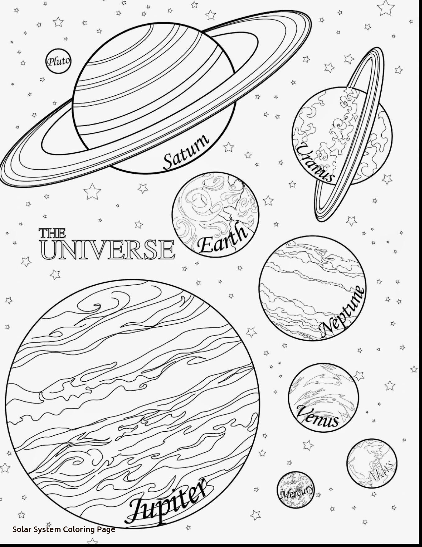 solar system pictures to colour coloring town pictures to solar system colour