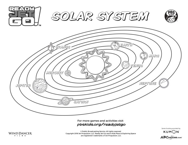 solar system pictures to colour printable solar system coloring sheets for kids colour pictures system solar to