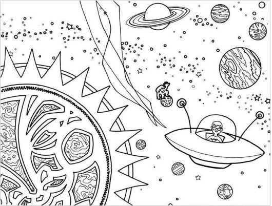 solar system pictures to colour solar system coloring page pictures to solar colour system