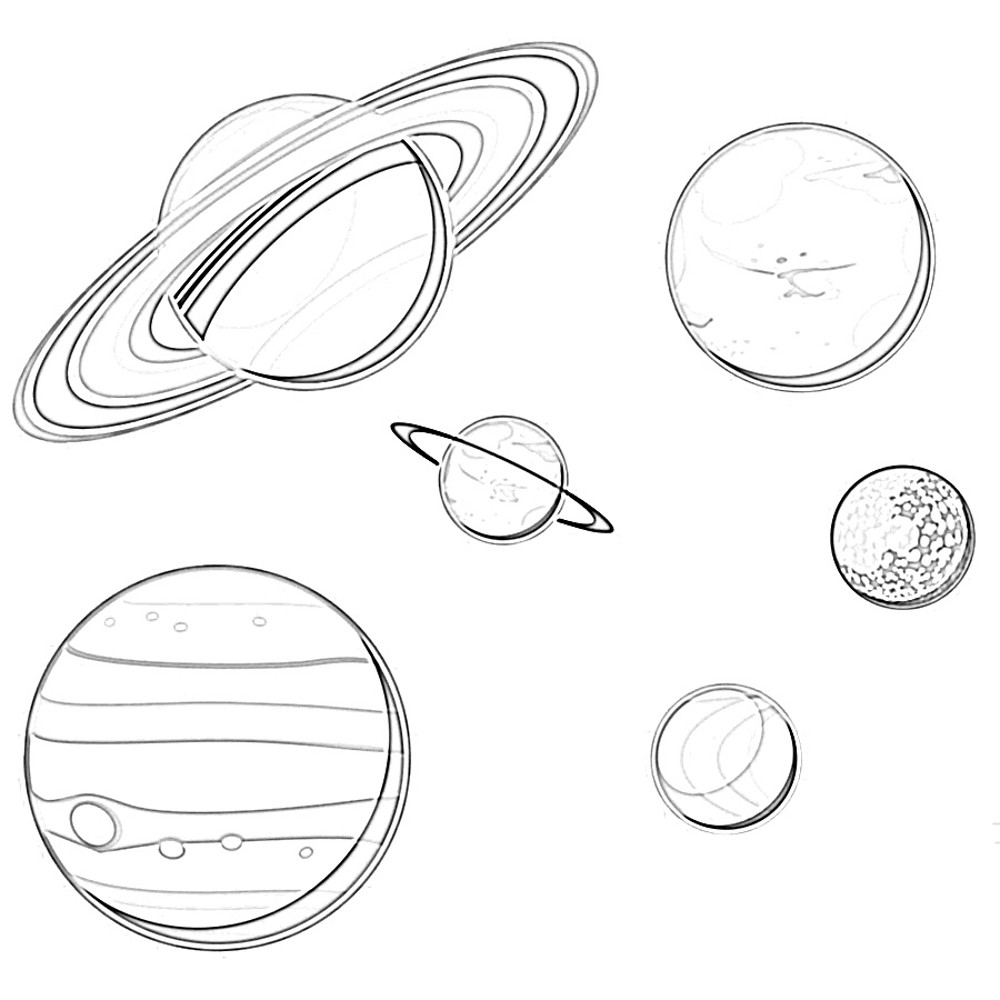 solar system pictures to colour solar system coloring pages coloring pages to download to system solar pictures colour