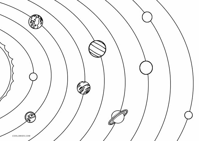 solar system pictures to colour solar system coloring pages free printable solar system system solar to pictures colour