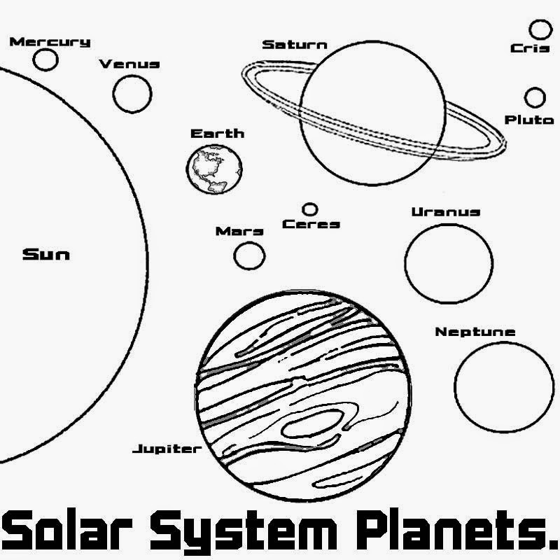 solar system pictures to colour solar system coloring pages free printable solar system to colour solar system pictures