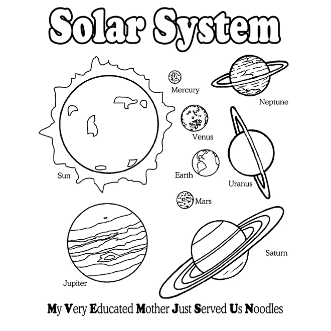 solar system pictures to colour solar system coloring pages free printable solar system to pictures system solar colour