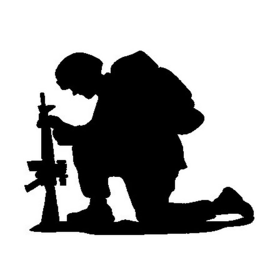 soldier praying silhouette outdated and inaccurate 39darkhorse battalion39 prayer silhouette soldier praying