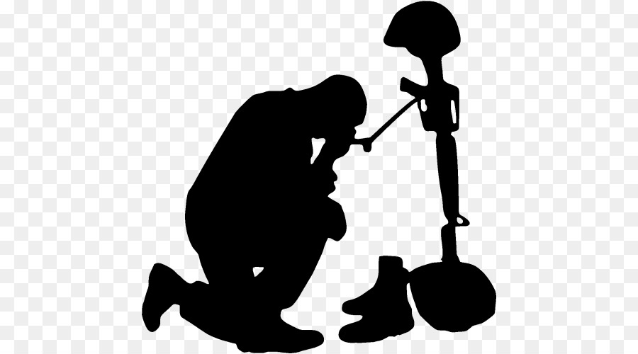 soldier praying silhouette praying soldier vinyl decal just 499 available in praying soldier silhouette