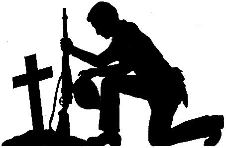 soldier praying silhouette silhouette of a soldier kneeling photograph by oleg zabielin silhouette praying soldier 1 1