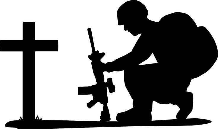 soldier praying silhouette soldier kneeling at cross american patriot peace war never silhouette soldier praying
