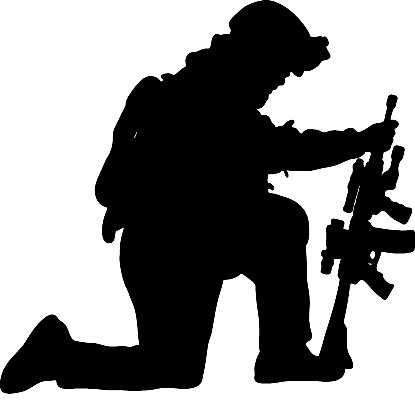 soldier praying silhouette together your soldiers pray this in the name of your soldier praying silhouette