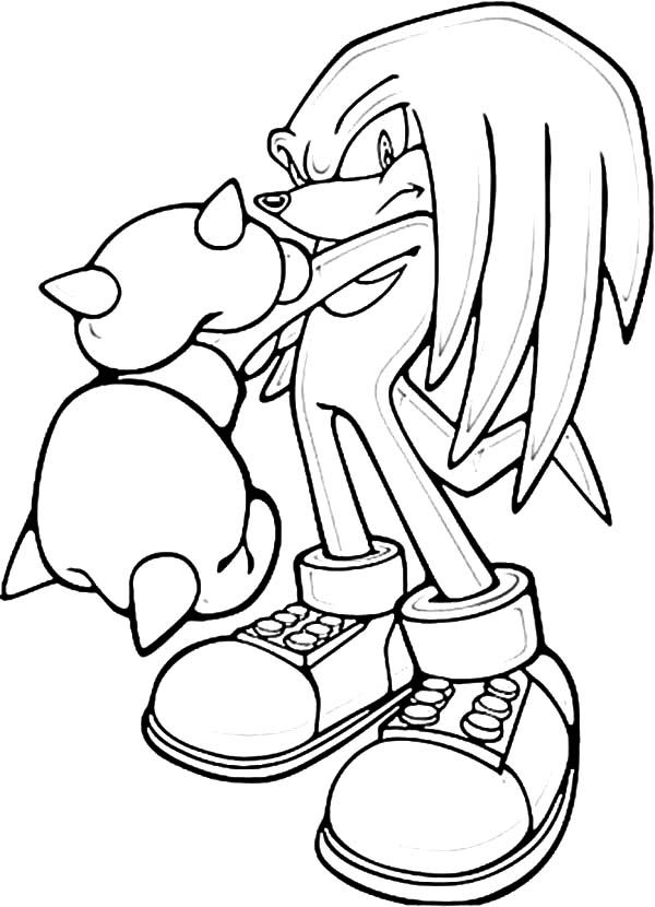 sonic knuckles coloring pages coloring page knuckles pages coloring knuckles sonic