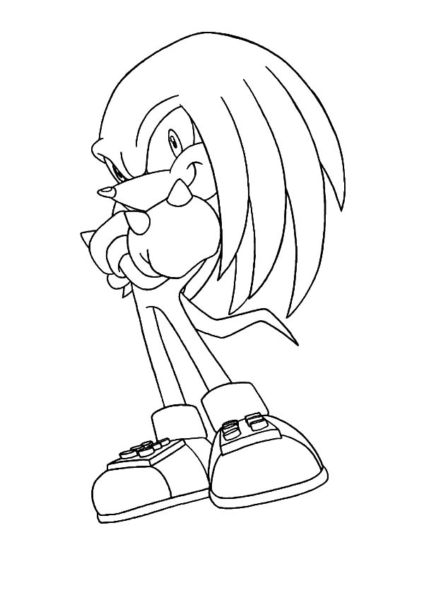 sonic knuckles coloring pages sonic and knuckles coloring pages coloring pages knuckles coloring sonic pages