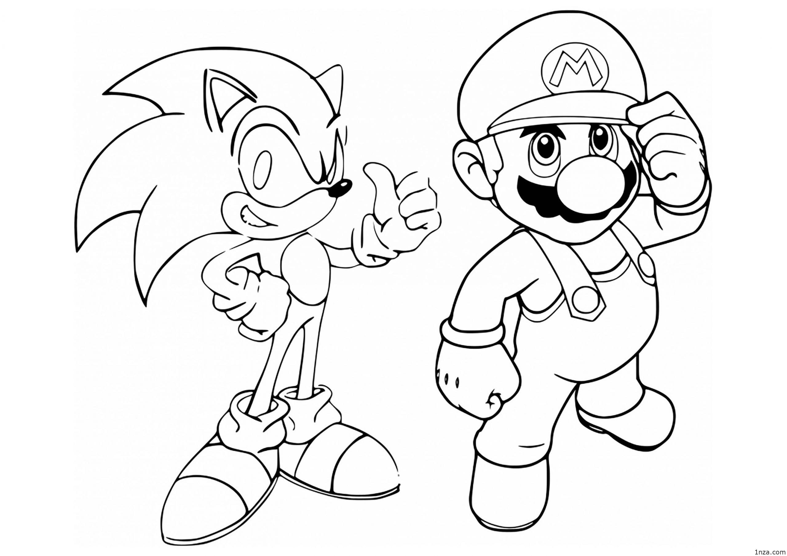 sonic printable 12 free printable sonic the hedgehog coloring pages 1nza printable sonic