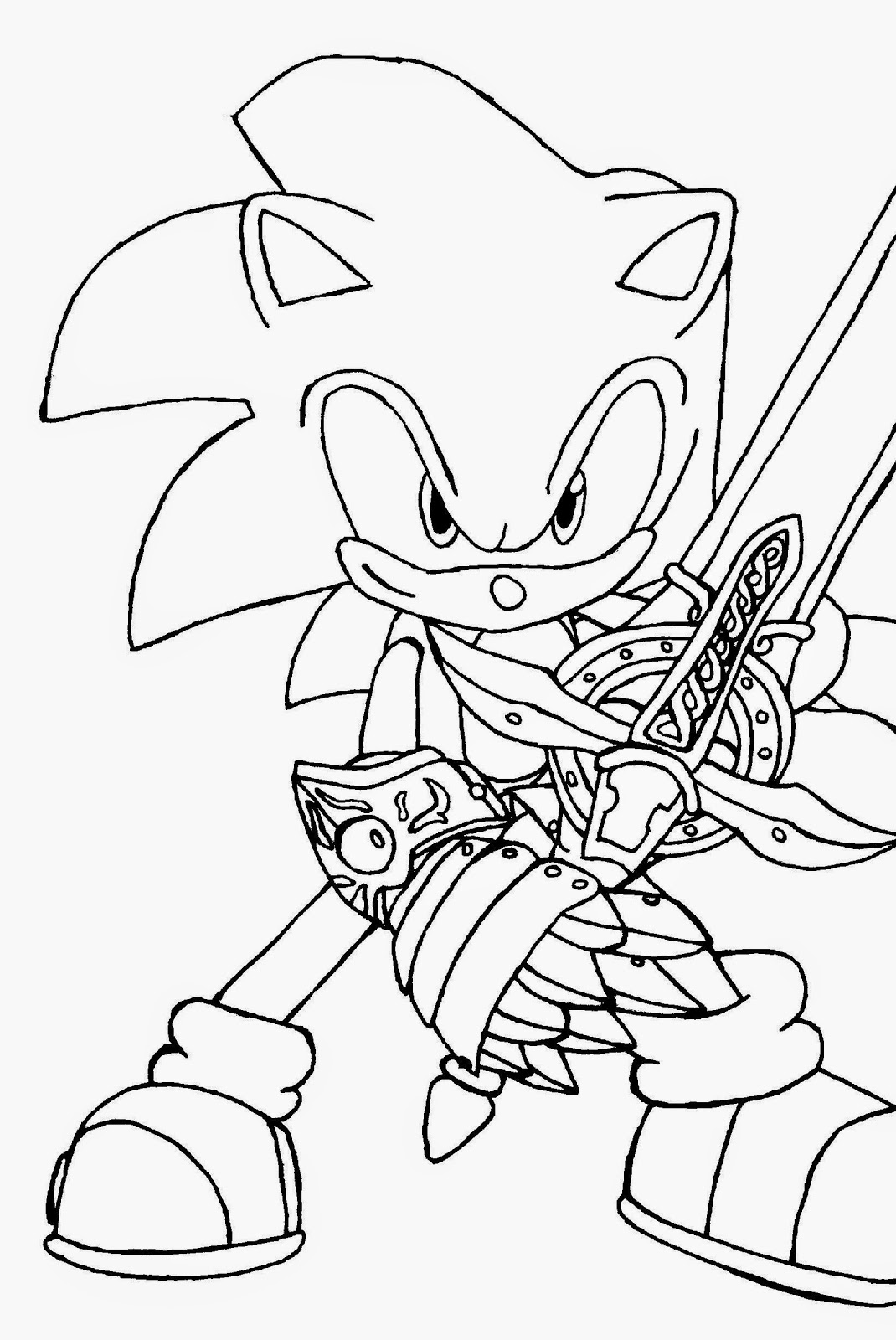 sonic printable printable sonic coloring pages for kids cool2bkids printable sonic