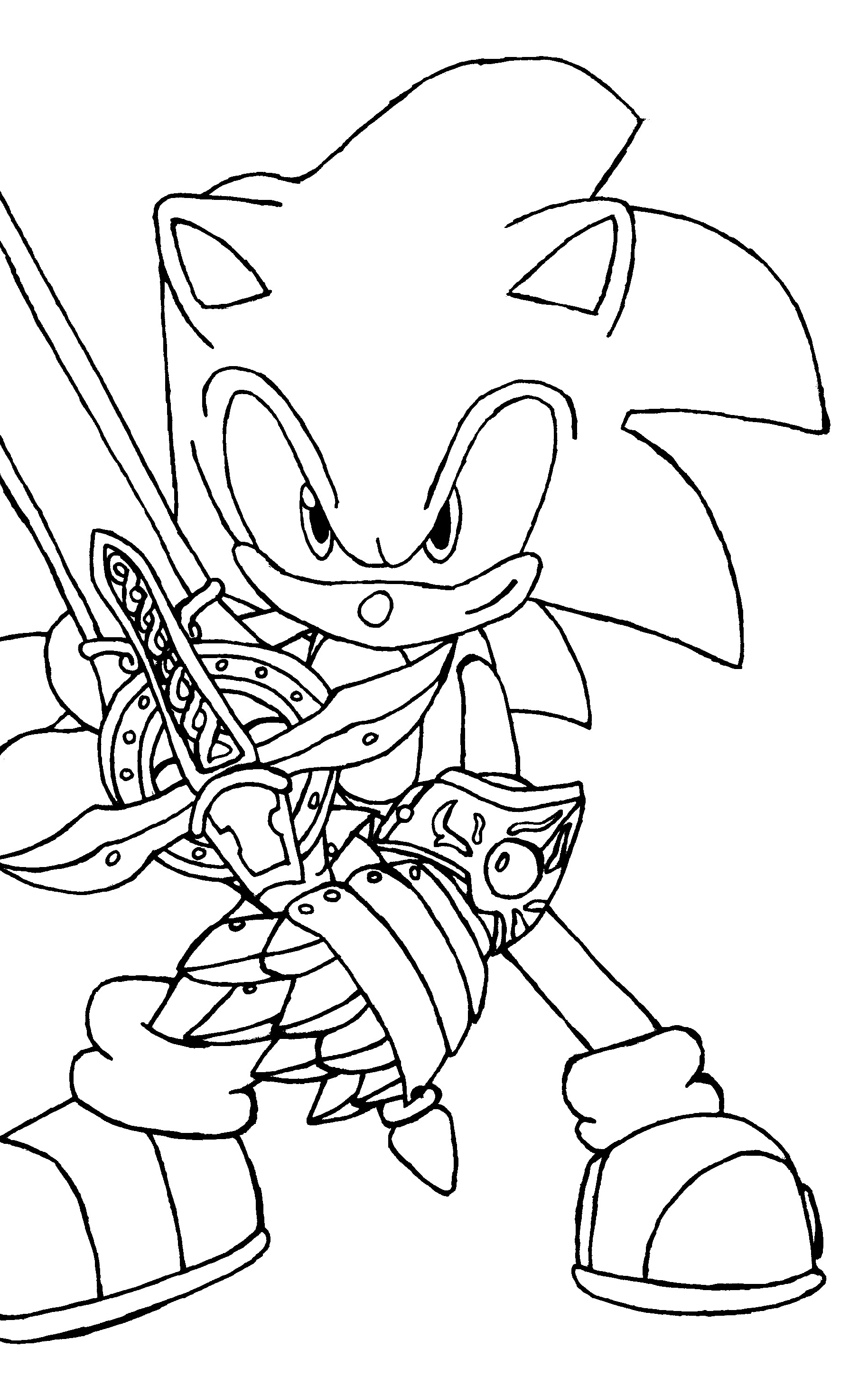 sonic printable super sonic coloring pages to download and print for free sonic printable