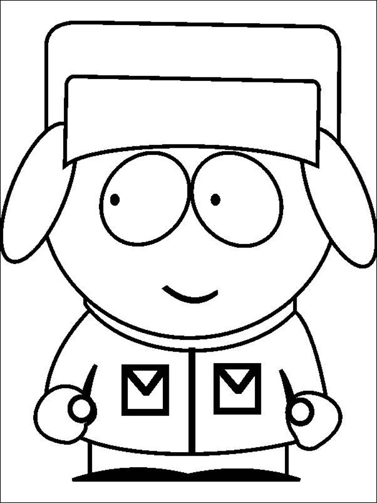 south park coloring pages jimmy valmer from south park coloring page free south pages coloring park south