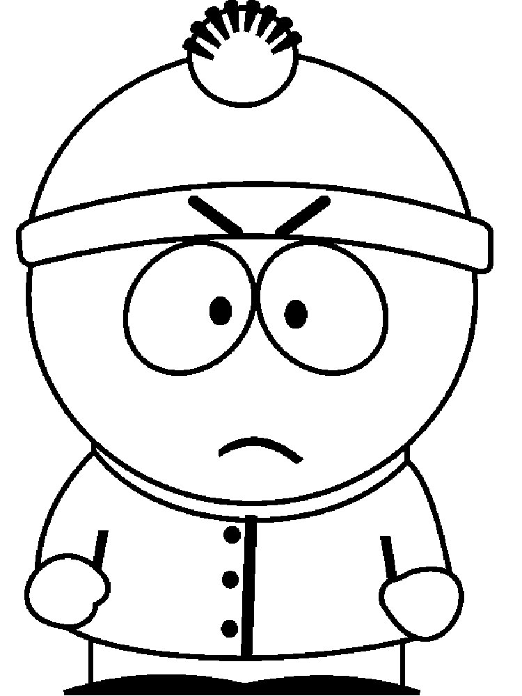 south park coloring pages south park cartoon goodies videos and png images park south coloring pages