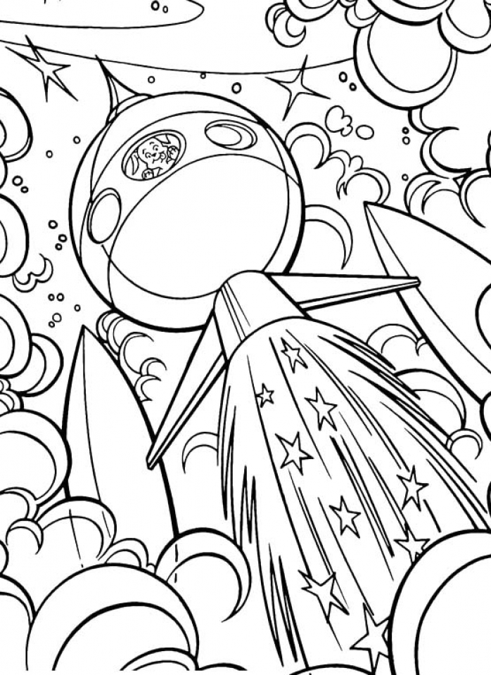 space printable coloring pages rocket in the space anti stress adult coloring pages space coloring printable pages