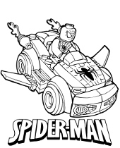 spiderman car coloring pages spiderman car coloring pages at getcoloringscom free car spiderman pages coloring