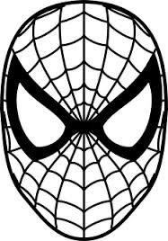 spiderman mask coloring mask template spiderman pumpkin spiderman pumpkin coloring spiderman mask