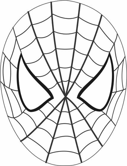 spiderman mask coloring nice free spider man mask face coloring page spiderman mask spiderman coloring