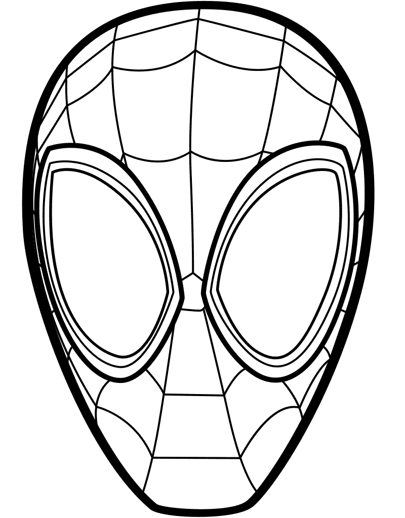 spiderman mask coloring updated 100 spiderman coloring pages september 2020 coloring spiderman mask