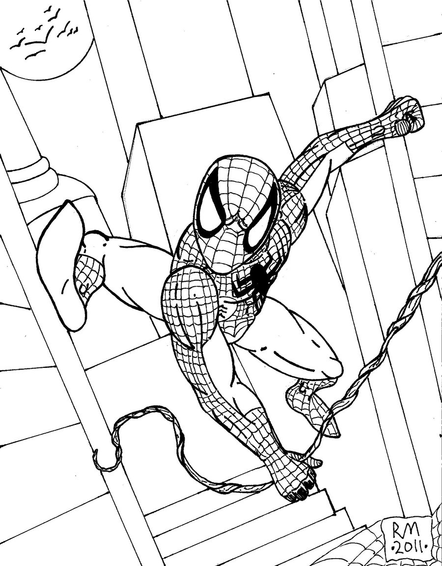 spiderman outline spiderman outline drawing at getdrawings free download outline spiderman