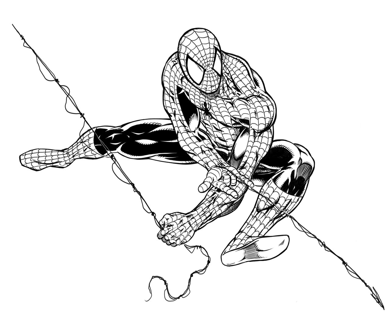 spiderman outline spiderman outline drawing at getdrawings free download outline spiderman 1 2