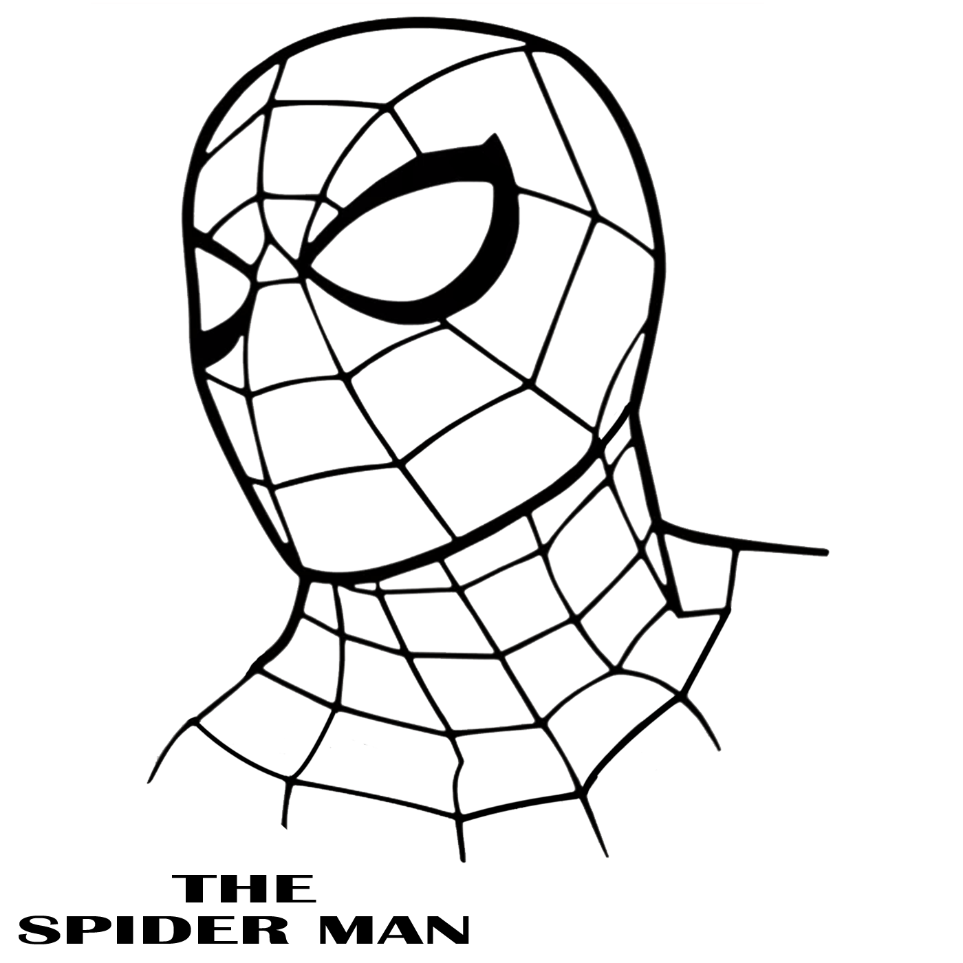 spiderman outline spiderman outline drawing at paintingvalleycom explore spiderman outline