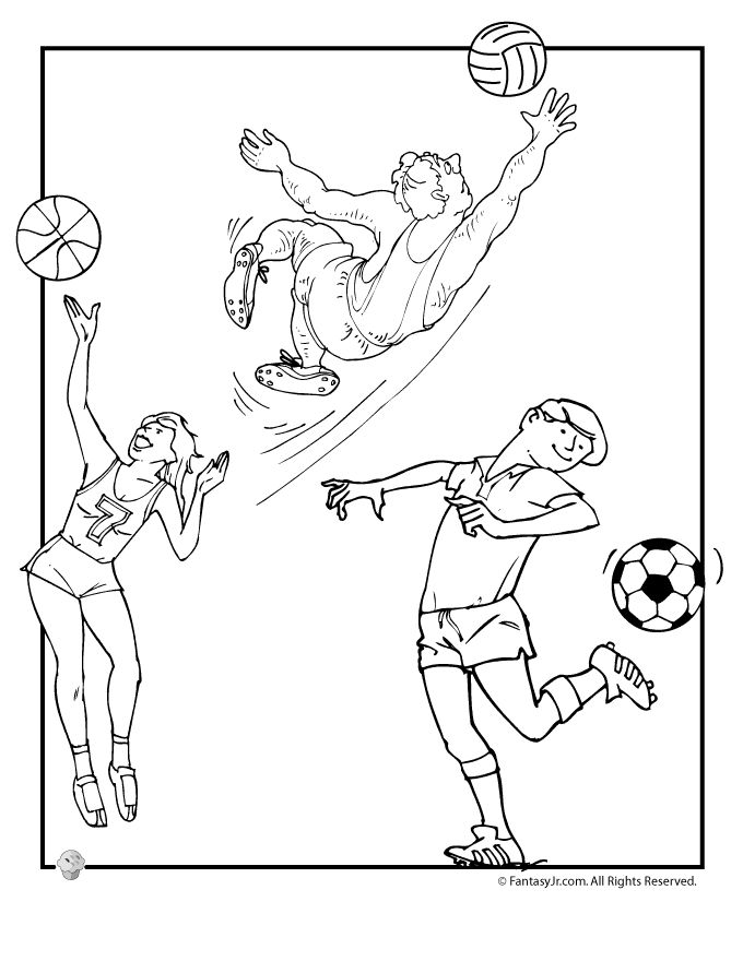 sports day colouring spring activity coloring page 15 spring biking coloring day colouring sports