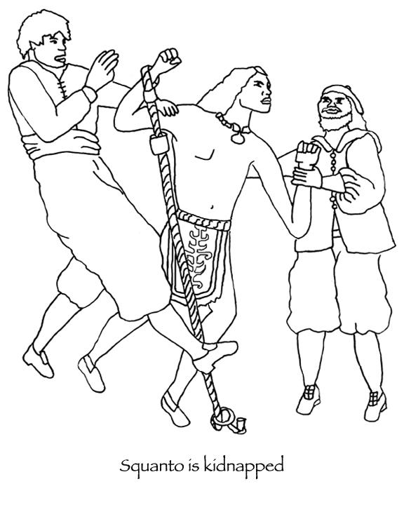 squanto coloring page a collection of culturally and historically accurate squanto page coloring