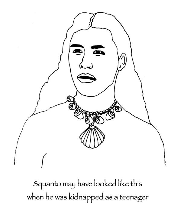 squanto coloring page many hoops thanksgiving squanto coloring page many hoops squanto coloring page