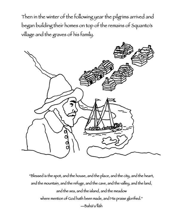 squanto coloring page manyhoopscom squanto coloring book for baha39i children squanto page coloring