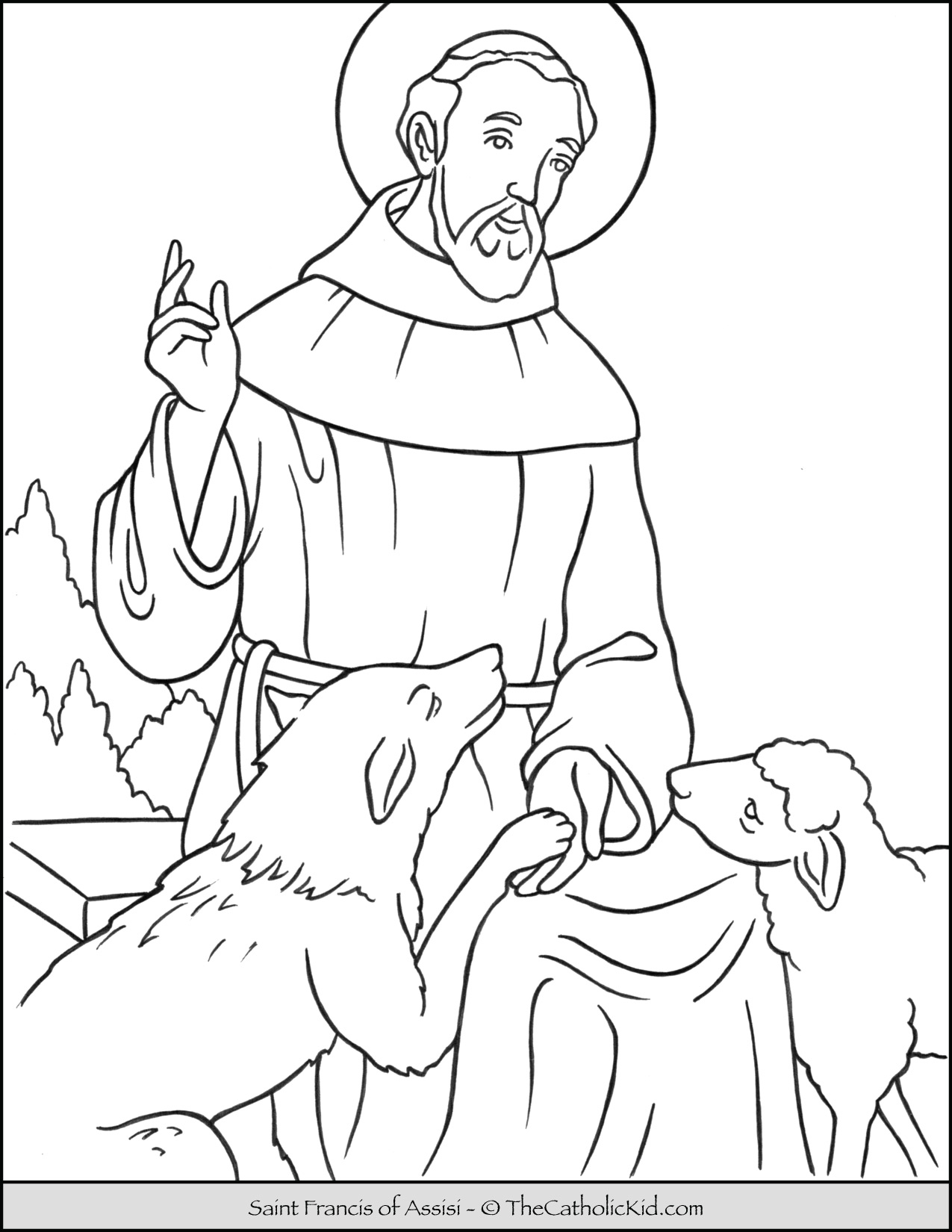 st francis of assisi coloring page 69 best images about s francisco de assis on pinterest francis of st coloring assisi page