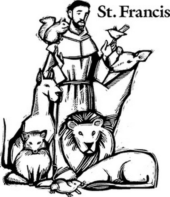 st francis of assisi coloring page st francis of assisi coloring pages for catholic kids assisi st page francis coloring of