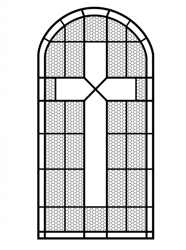 stained glass cross coloring page 17 best images about easter he is risen coloring pages stained cross coloring page glass