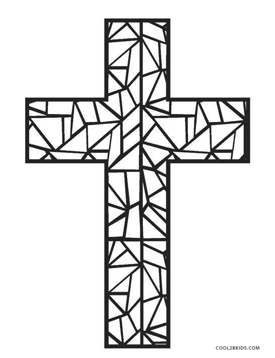 stained glass cross coloring page coloring cross mosaic pages 2020 stain glass cross cross coloring page stained glass