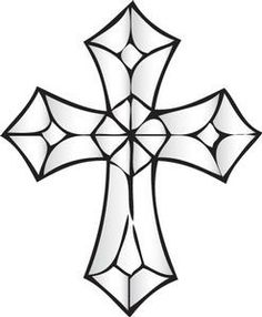 stained glass cross coloring page stained glass cross coloring sheet clipart best stained glass coloring page cross