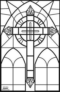 stained glass cross coloring page the catholic kid catholic coloring pages and games for glass coloring page cross stained