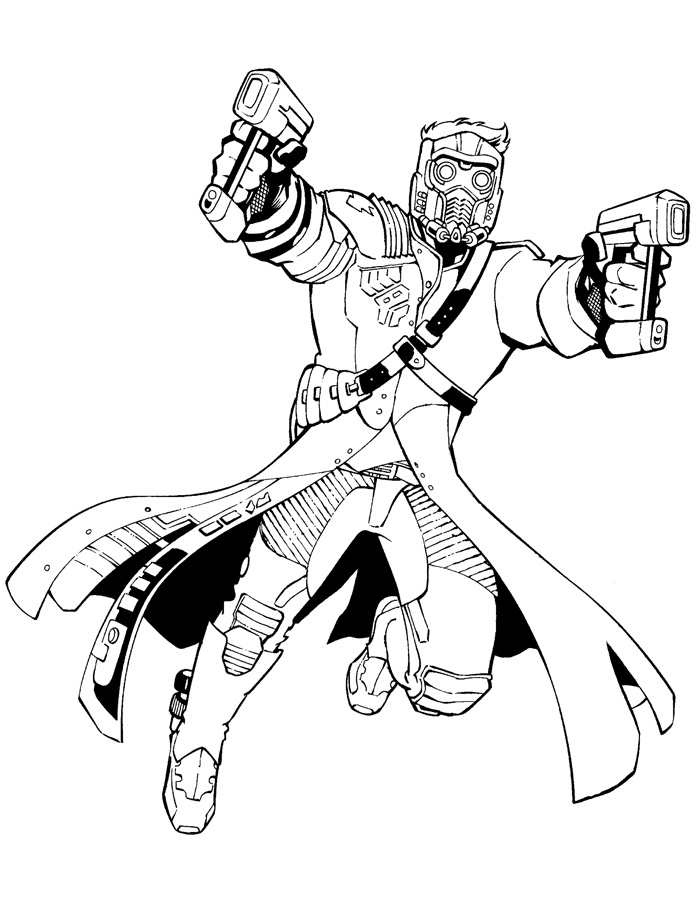 star lord coloring pages guardians of galaxy guardians of galaxy kids coloring pages lord star pages coloring