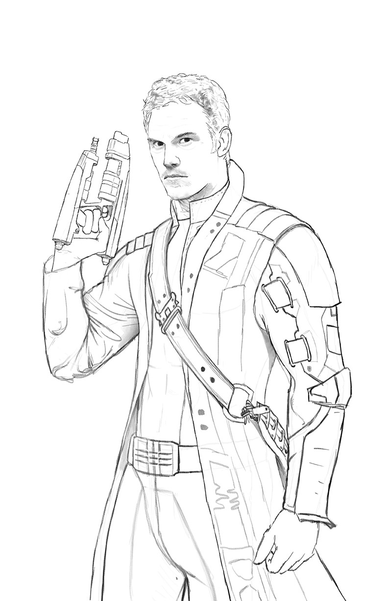 star lord coloring pages star lord guardians of the galaxy coloring pages get coloring lord pages star