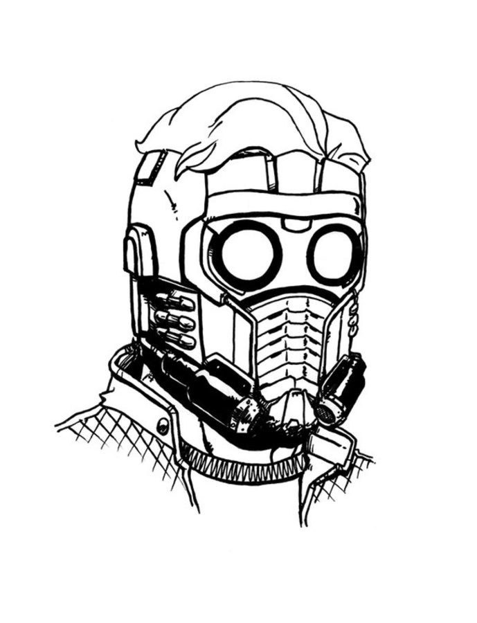 star lord coloring pages star lord pages coloring pages pages star coloring lord 1 1
